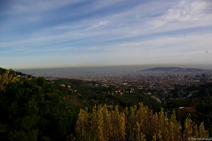 Tibidabo panorama