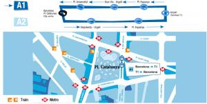 aerobus mapa