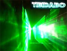 Tibidabo Laser Show