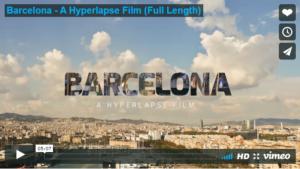 Barcelona timelapse