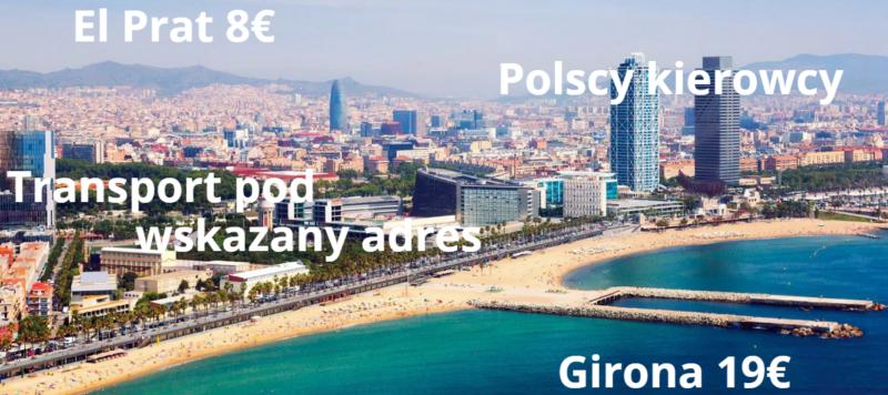 Barcelona - transport z polskim kierowcą